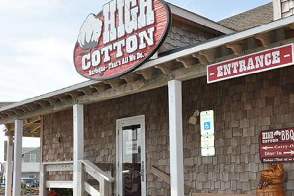 High Cotton BBQ Kitty Hawk OBX