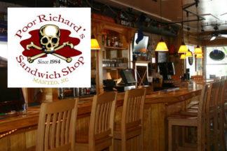 Poor Richard's Sandwich Shop Manteo, NC Roanoke Island Outer Banks