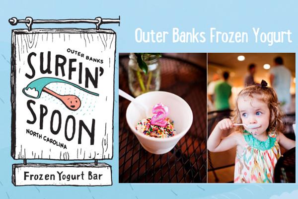 Surfin' Spoon Frozen Yogurt Nags Head NC