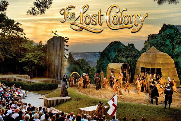 The Lost Colony Roanoke Island Outer Banks NC
