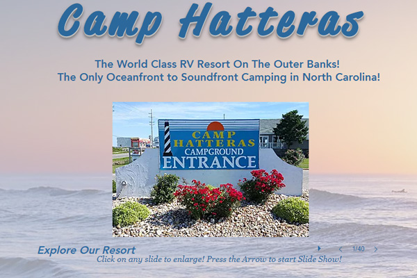 Camp Hatteras Campground Outer Banks NC