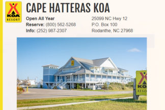 Cape Hatteras KOA Campground Hatteras Outer Banks NC