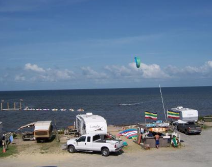 Rodanthe Watersports And Campground Visit Outer Banks Obx Vacation Guide