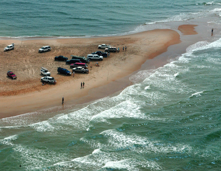 Cape Hatteras National Seas