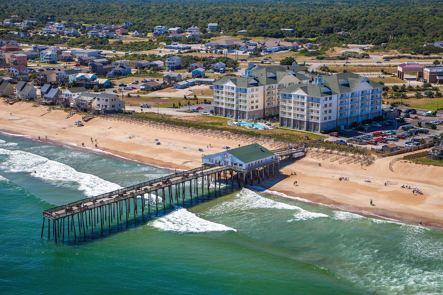 Kitty Hawk Pier | Visit Outer Banks | OBX Vacation Guide
