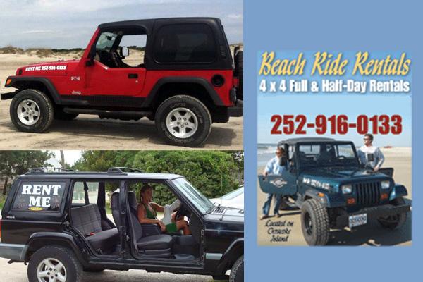 Beach Ride Rentals Ocracoke NC