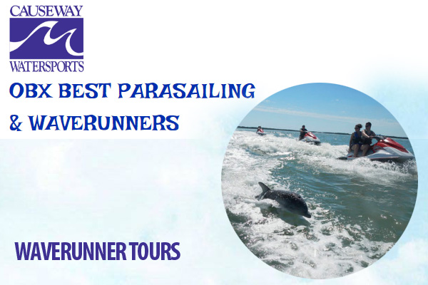Causeway Watersports Waverunner Tours Nags Head NC Outer Banks