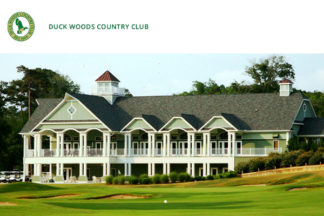Duck Woods Country Club Outer Banks NC Golf Courses