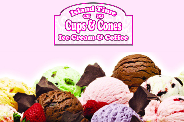 Island Time Cups Cone coffee Hatteras NC Outer Banks