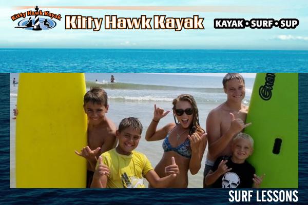 Kitty Hawk Kayak & Surf School Outer Banks NC