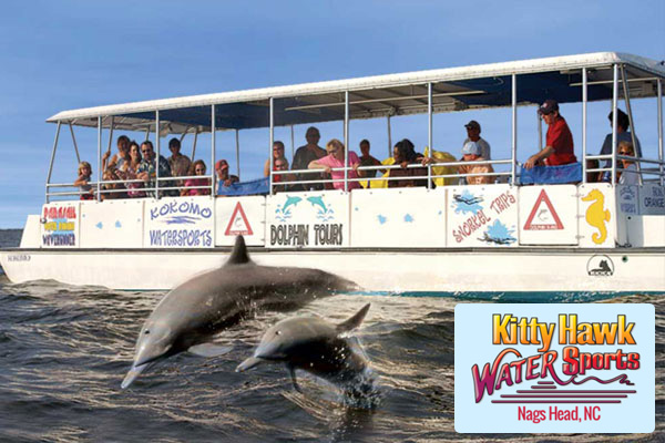 Kitty Hawk Watersports Dolphin Tour Outer Banks