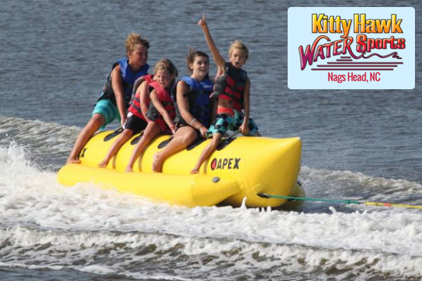 Kitty Hawk Watersports Banana Boat Rides Outer Banks NC