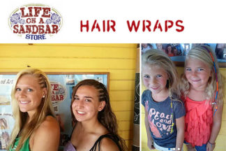 Life on a Sandbar Hair Wraps