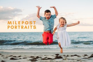 Milepost Portraits Outer Banks NC Family Beach Photography