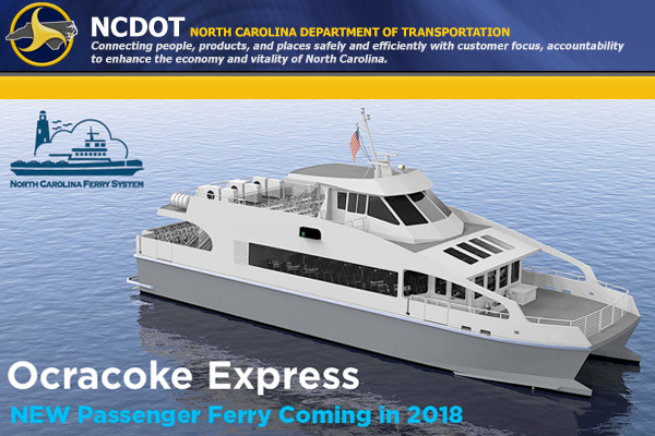 Ocracoke Express Passenger Ferry Outer Banks