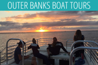 Outer Banks Boat Tours Duck NC Sunset Cruise