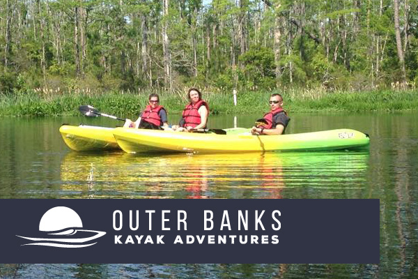 Outer banks kayak adventures visit outer banks obx for Fishing in duck nc