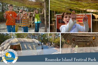 Roanoke Island Festival Park - American Indian Town