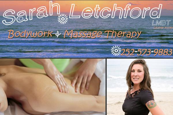 Sarah Letchford Bodywork Massage Outer Banks NC