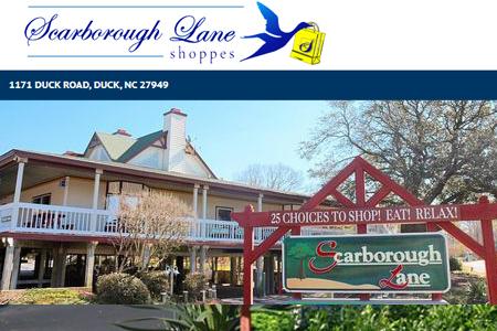Scarborough Lane Shoppes Kitty Hawk Outer Banks