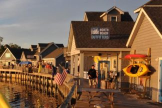 Duck Town and Boardwalk Outer Banks