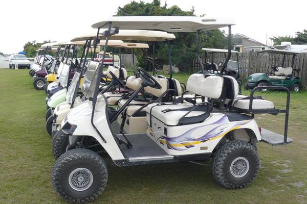 Wheelie Fun Golf Carts Ocracoke, NC Outer Banks