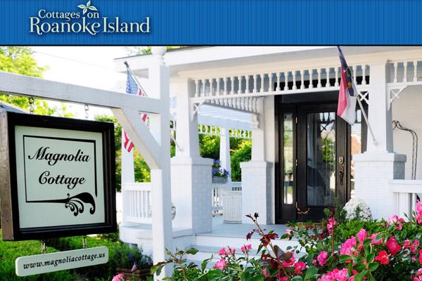 Cottages on Roanoke Island, NC, Manteo